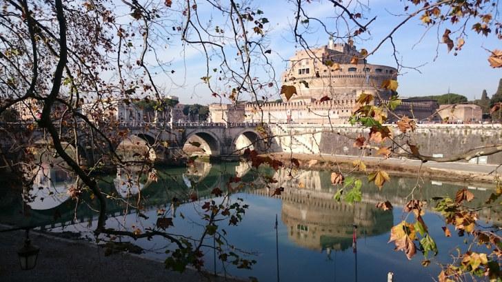 Замок Святого Ангела. Рим, Италия, 2015