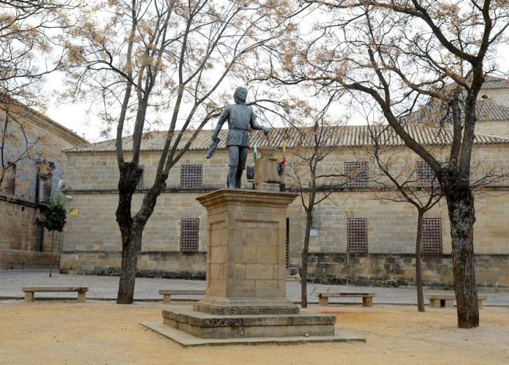 Памятник Андресу де Вандельвире. Убеда, Испания. 2015