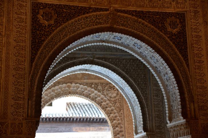 Дворцы Насридов. Альгамбра. Гранада, Испания, 2015