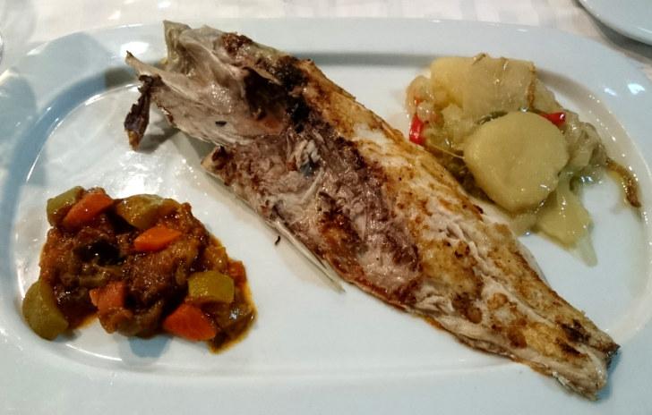 Ресторан Avante Claro. Дорада