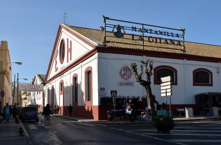 Бодега Hidalgo la Gitana. Санлукар де Баррамеда, Испания. 2015