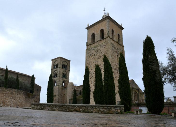 Церковь Санта Мария Ла Майор. Трухильо, Испания, 2016