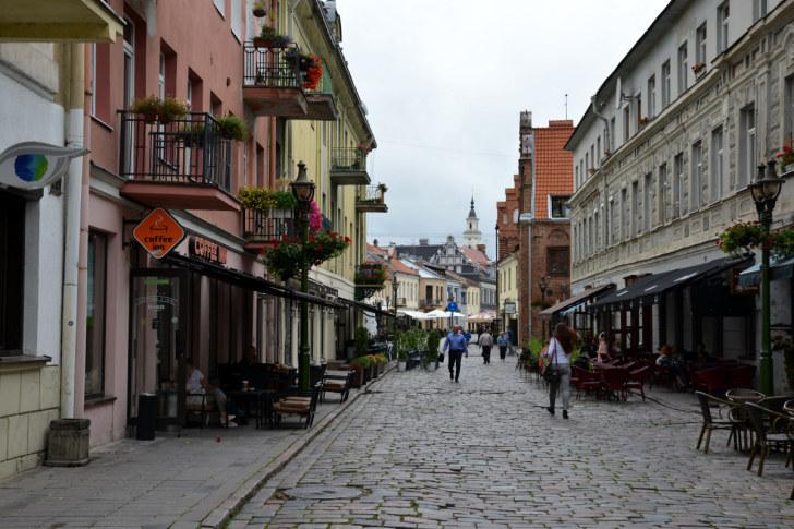 Vilniaus gatvė. Каунас, Литва, 2016