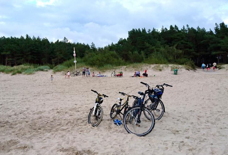 Пляж номер 1. Паланга, Литва, 2016
