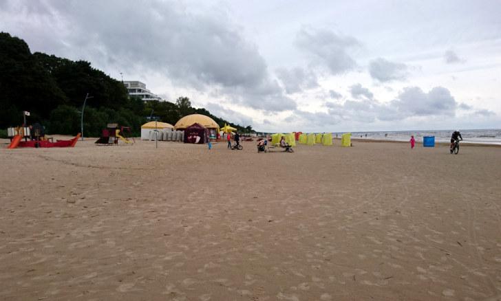 Пляж. Юрмала, Латвия, 2016