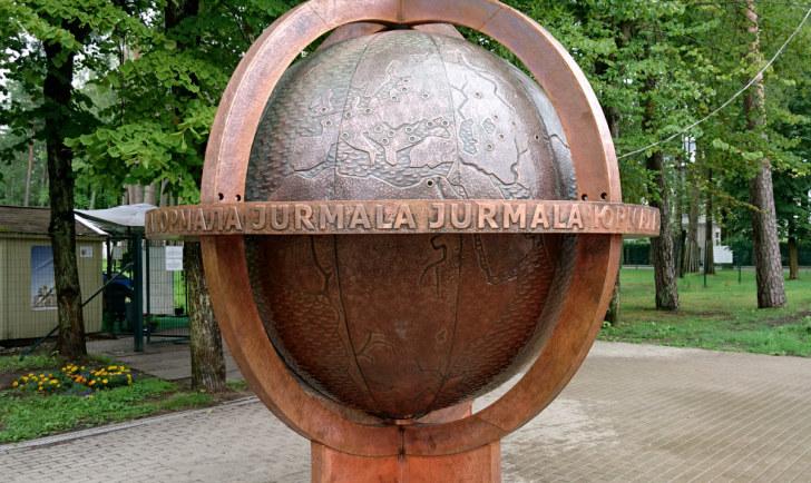 Глобус. Юрмала, Латвия, 2016