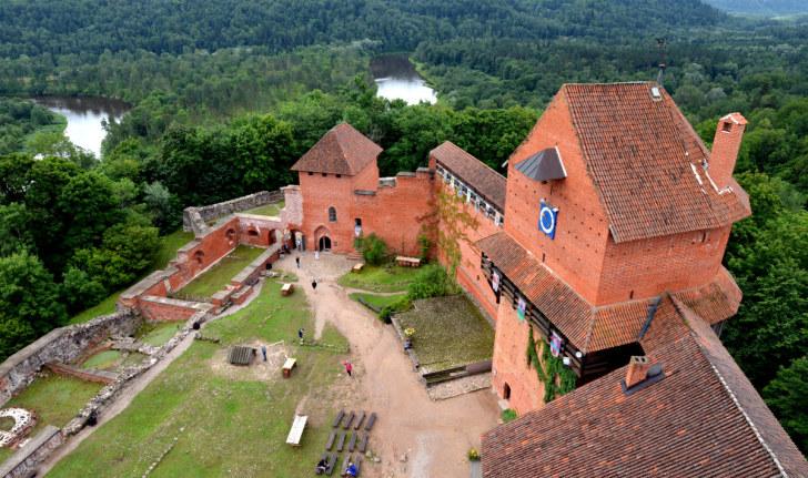 Турайдский замок. Турайда, Латвия, 2016