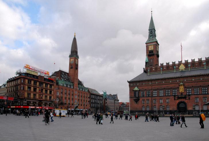 Ратушная площадь. Копенгаген, 2010