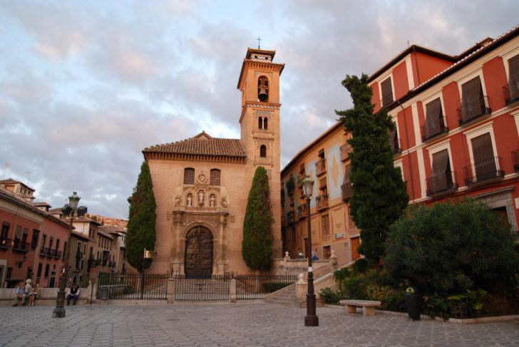 Церковь Св. Джила и Аны. Гранада, Испания, 2010