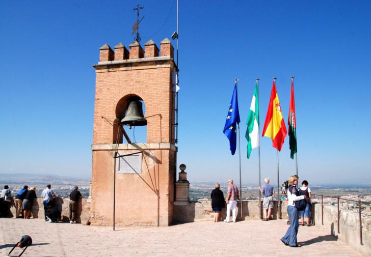 Torre de la Vella. Альгамбра, Гранада, 2010