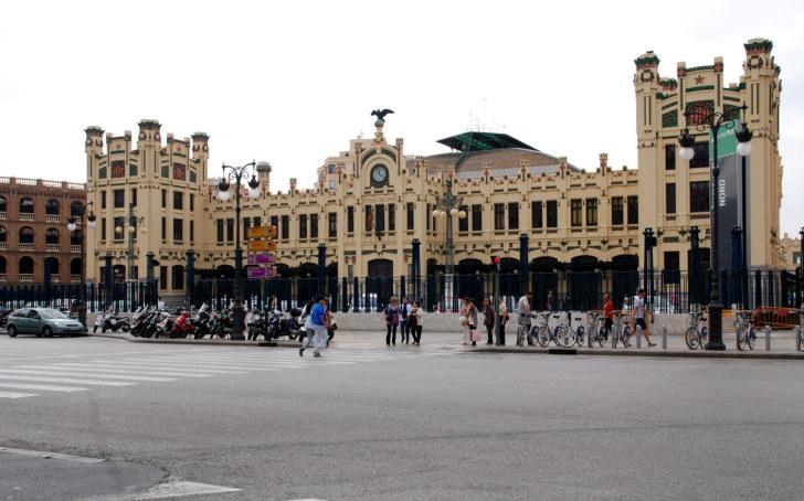 Северный вокзал. Валенсия, Испания, 2010