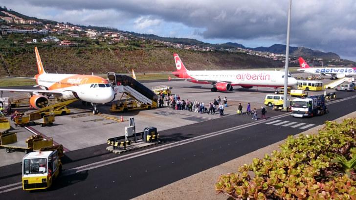 Аэропорт Мадейра, 2016