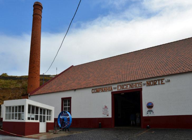 Музей-фабрика по производству рома. Порту да Круш, Мадейра, 2016