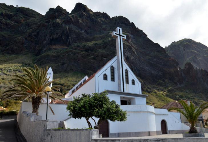 Церковь Санту Амару. Пол ду Мар, Мадейра, 2016