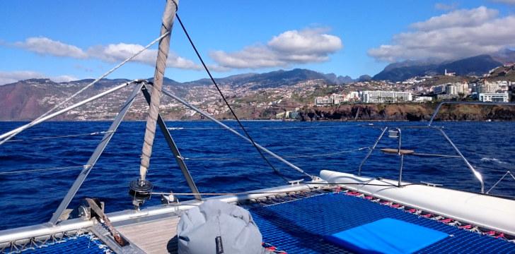 Вид на Мадейру с моря. 2016