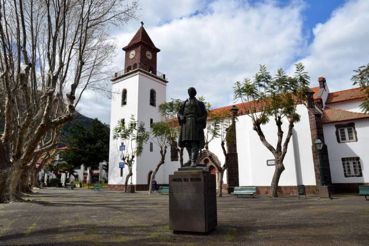 Памятник Тристану Ваз Тейшейру. Машику. Мадейра, 2016