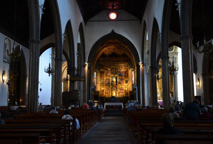 Кафедральный собор Се. Фуншал, Мадейра. 2016