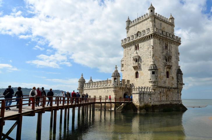 Белемская башня. Лиссабон, Португалия. 2016
