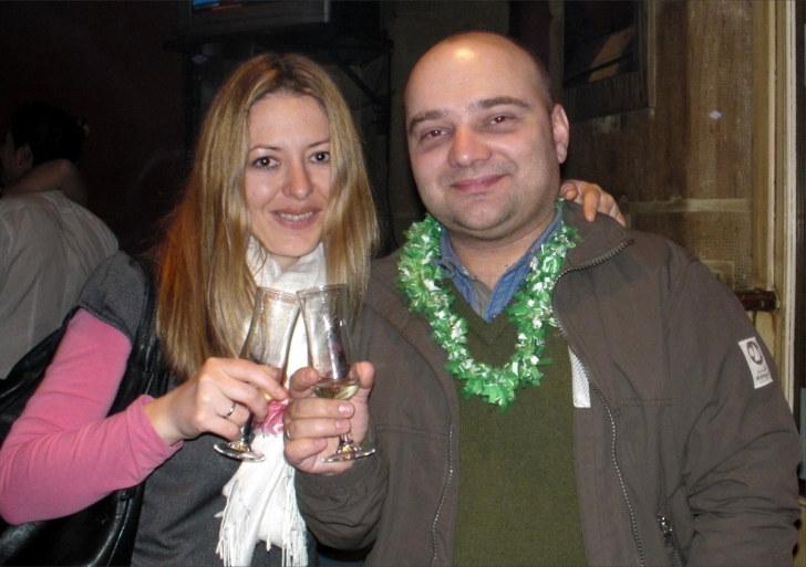 Встреча Нового 2011 года в ресторане Aita Mari. Сан-Себастьян, Испания. 2011