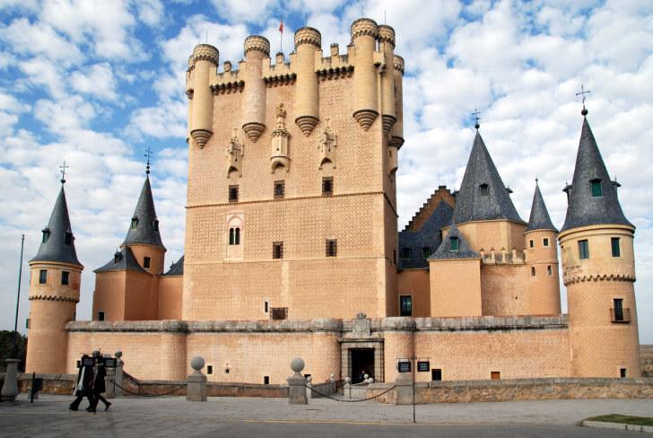 Замок в Сеговии, Испания, 2010