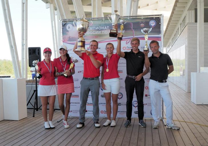 XXVI Чемпионат России по гольфу. Победители и призёры