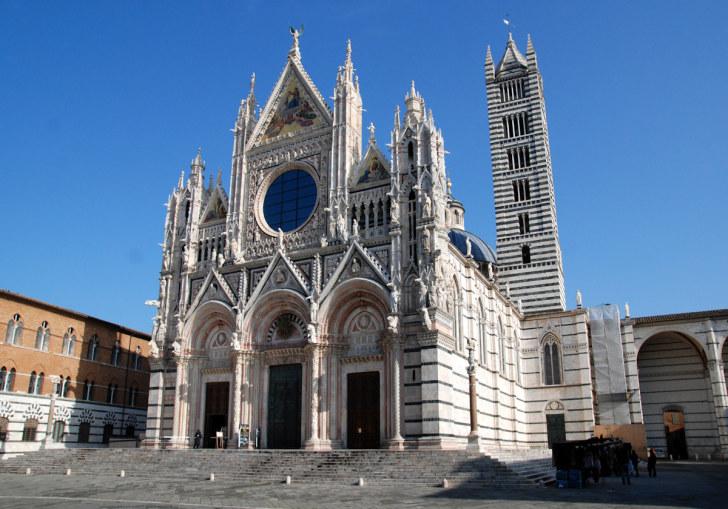 Кафедральный собор Сиены. Италия, 2011