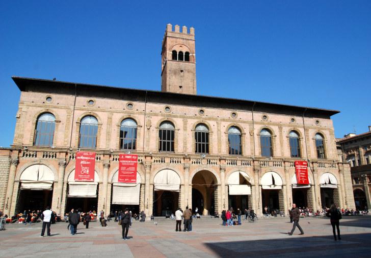Дворец Подеста. Болонья, Италия, 2011