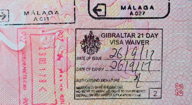 Гибралтарская виза, 2017