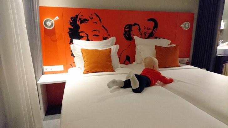 Номер в гостинице Star Inn. Лиссабон, 2017