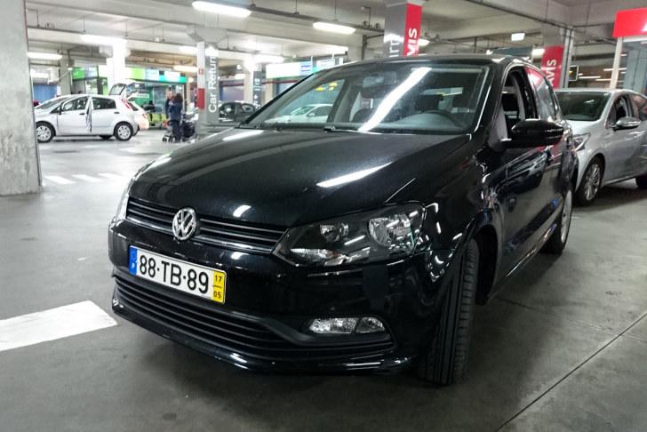 Volkswagen Polo. Avis. Португалия, 2017