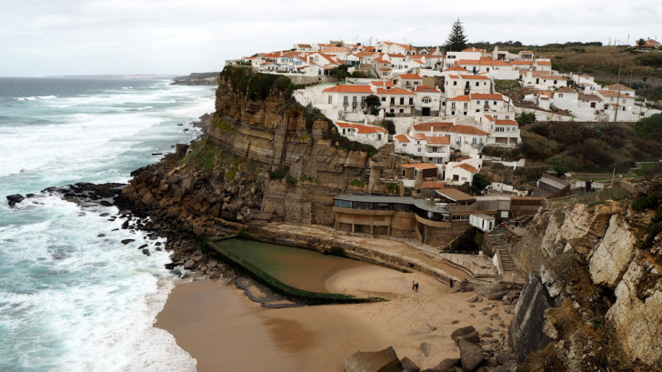 Azenhas do Mar. Португалия, 2017