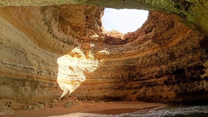 Пещера Бенагил. Алгарве, 2018