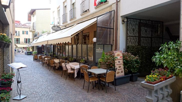 Ресторан Il Portico. Стреса, 2018