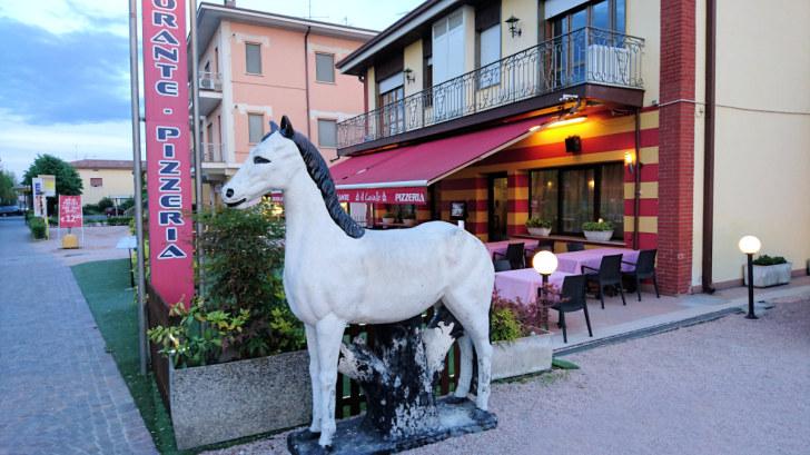 Ресторан Al Cavallo. Сирмионе, Италия, 2018