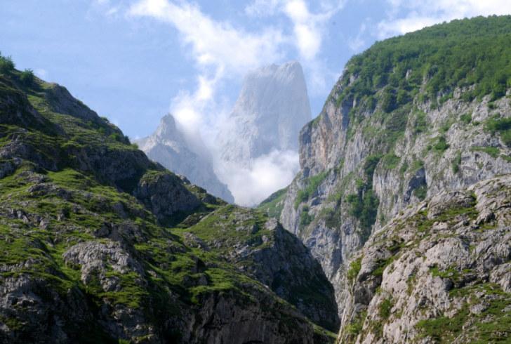 Пик Urriellu. Астурия, Испания, 2011