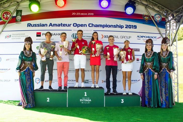 Победители и призеры ВС «Любители гольфа» 2019