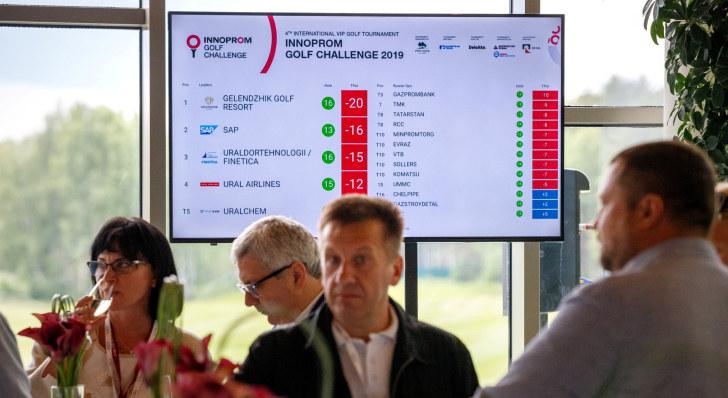 Innoprom Golf Challenge 2019. Screen // Фото: Александр Мамаев