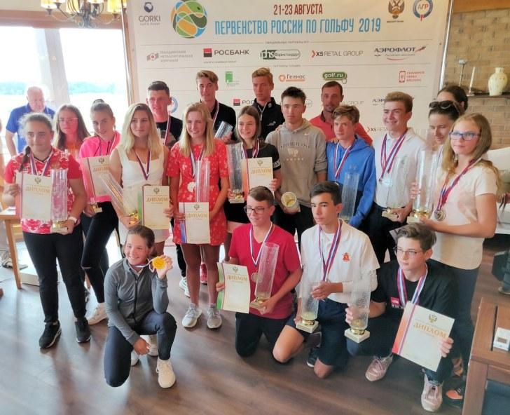 Первенство России 2019 - Победители и призеры