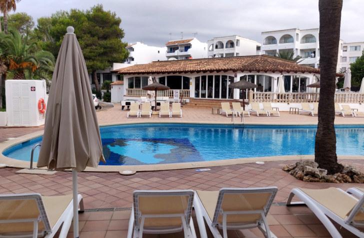 Вид из номера 3-306. Гостиница Pierre et Vacances Cecilia. Мальорка, 2019