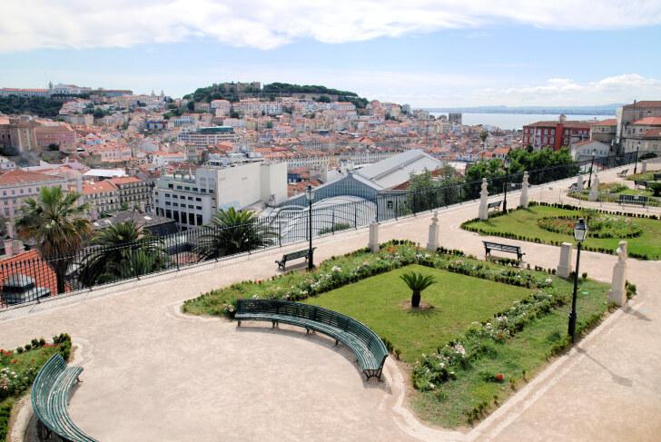 São Pedro de Alcântara. Лиссабон, 2011