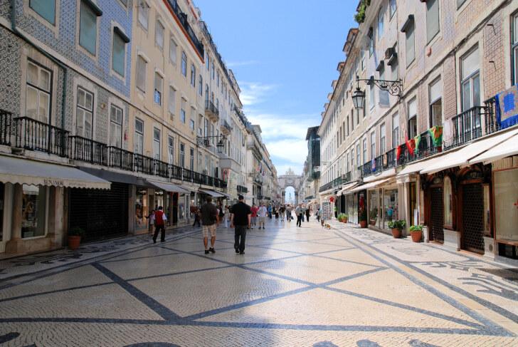 Baixa. Лиссабон, 2011