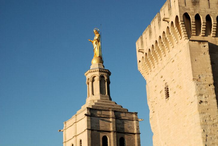 Папский дворец. Авиньон, Франция, 2011