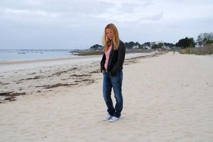 Пляж. Карнак. Франция, 2011