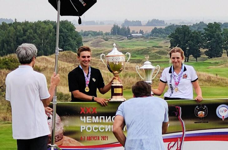 XXX Чемпионат России по гольфу. Победители