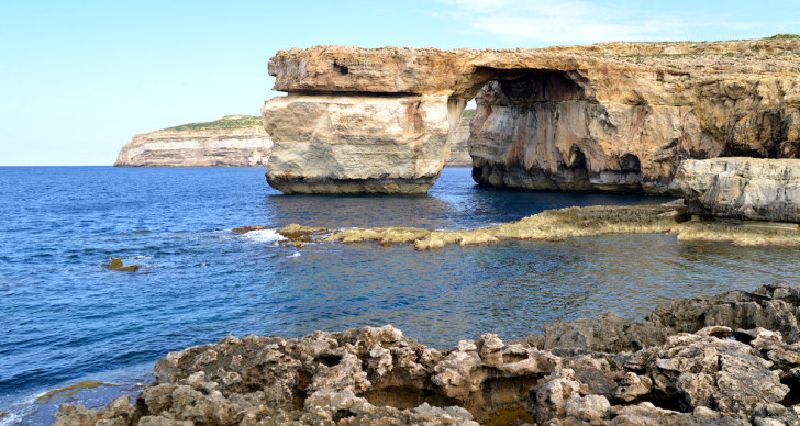 Лазурное окно (Azure Window). Гозо, Мальта